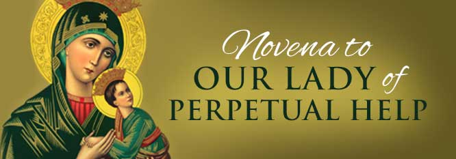 Header-Novena to Our Lady of Perpetual Help