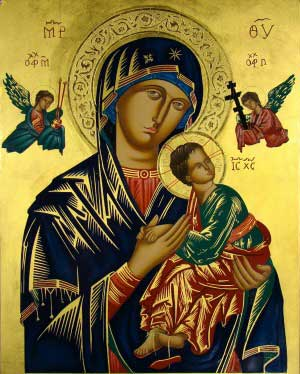 Icon-Our Lady of Perpetual Help