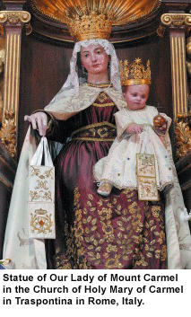 Our Lady of Mt Carmel