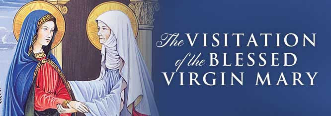 Header-The Visitation of the Blessed Virgin Mary