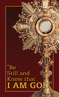 Meditation Booklet - Be Still and Know I am God