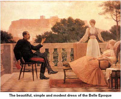 Dress of the Belle Epoque