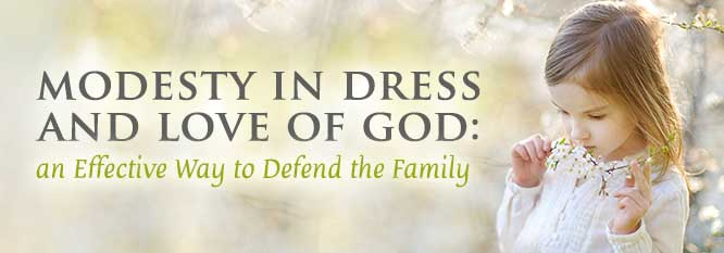 Header-Modesty of Dress and the Love of God