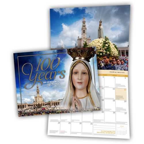 FREE 2017 Commemorative Fatima...