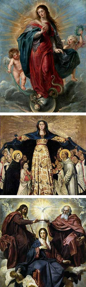 Blessed Virgin Mary Collage