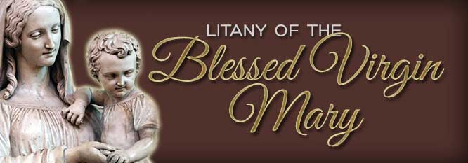 Header-Litany of the Blessed Virgin Mary