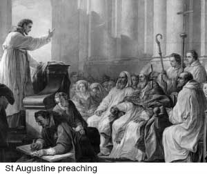 St Augustine Preaching