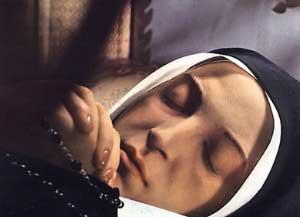 Incorrupt body of St Bernadette