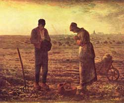 Stopping work to pray the Angelus