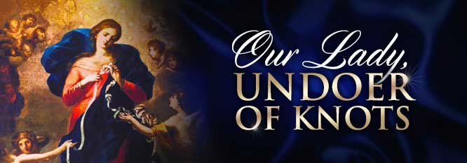 Header - Our Lady Undoer of Knots