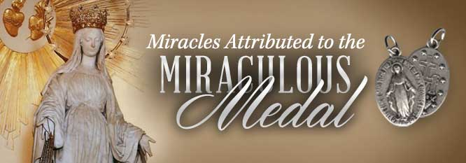 Header - Miracles of the Miraculous Medal