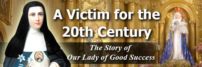 Header - Story of Our Lady of Good Success