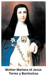 Mother Mariana of Jesus