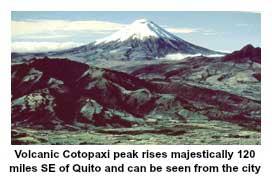 Volcanic Cotopaxi Peak