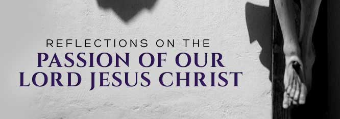 Reflections on the Passion of Our Lord Jesus Christ