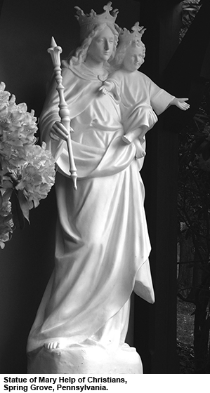 Statue of Mary Help of Christians