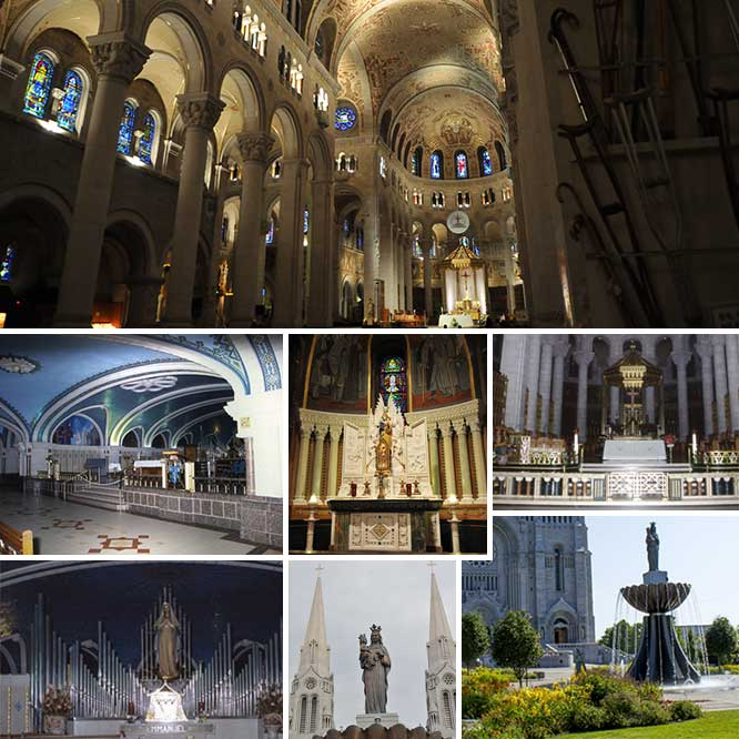 Shrine of St Anne - Collage 3