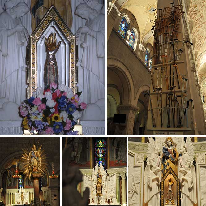 Shrine of St Anne - Collage 4