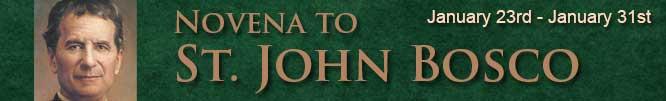 Novena to St John Bosco