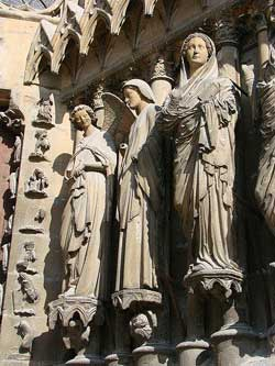 Statues on a Church