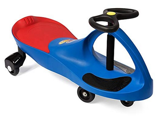 The Original PlasmaCar by PlaSmart ? Blue ? Ride On Toy, Ages 3 yrs and Up, No batteries, gears, or pedals, Twist, Turn, Wiggle for endless fun
