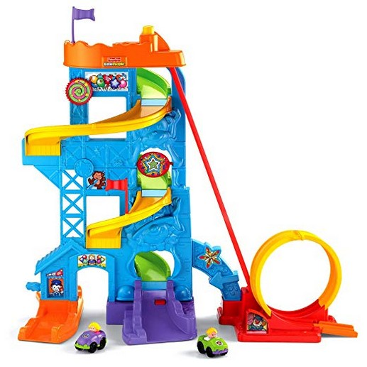 Fisher-Price Little People Loops n Swoops Amusement Park (Amazon Exclusive)
