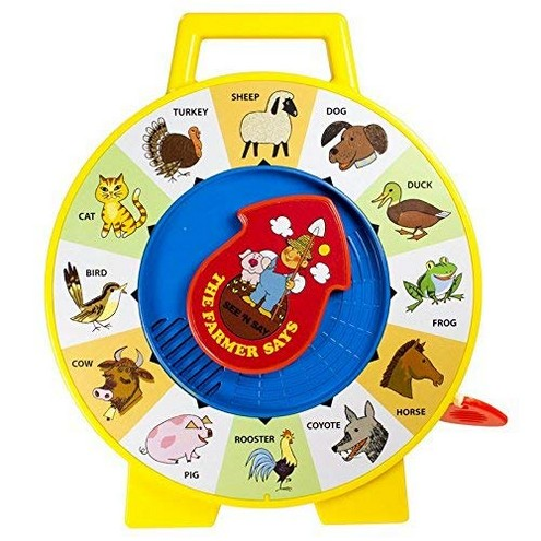 Fisher Price Classic Farmer Says See n Say