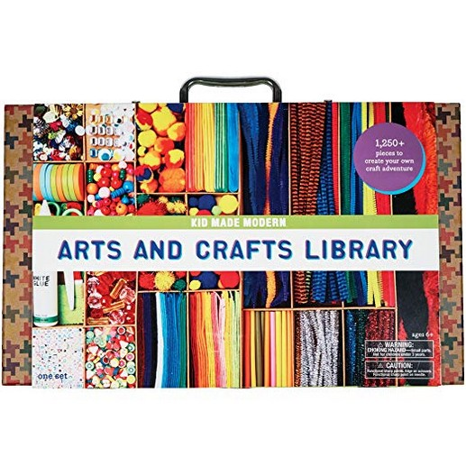 Kid Made Modern Arts and Crafts Library Set - Kids Craft Supplies