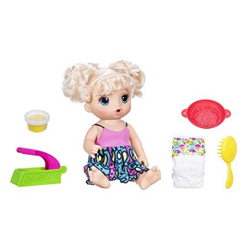 Baby Alive Super Snacks Snackin Noodles Baby (Blonde)