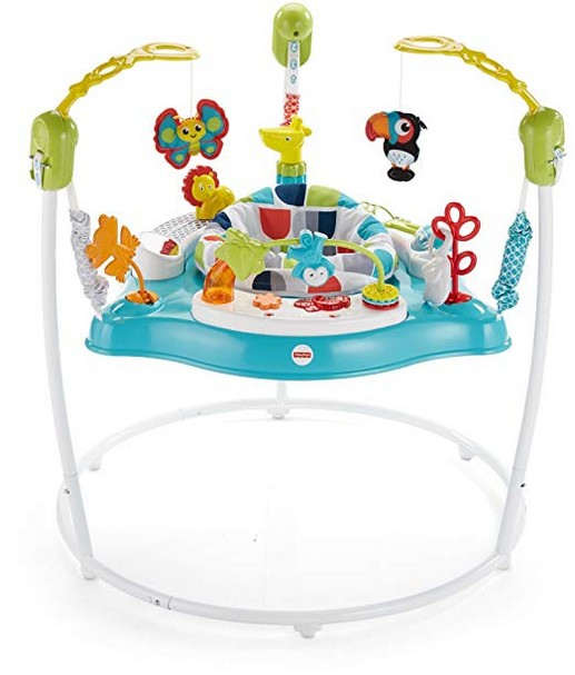 Fisher-Price Color Climbers Jumperoo, Activity Jumper for Baby [Amazon Exclusive]