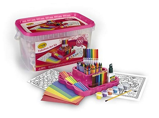 Crayola Fabulous Art Kit (Amazon Exclusive)