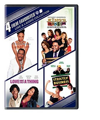 4 Film Favorites: Love & Laughs (Kings Ransom / Love Dont Cost a Thing / Strictly Business / Thin Line Between Love & Hate)