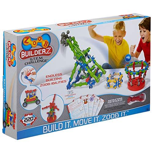 ZOOB BuilderZ S.T.E.M. Challenge Construction Set