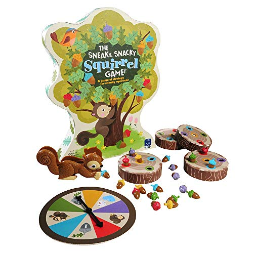 Educational Insights The Sneaky, Snacky Squirrel Game, Frustration Free Packaging