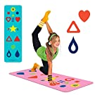 Yoga Mat Sizes & Yoga Game, The Chi Mat + How-to Poster