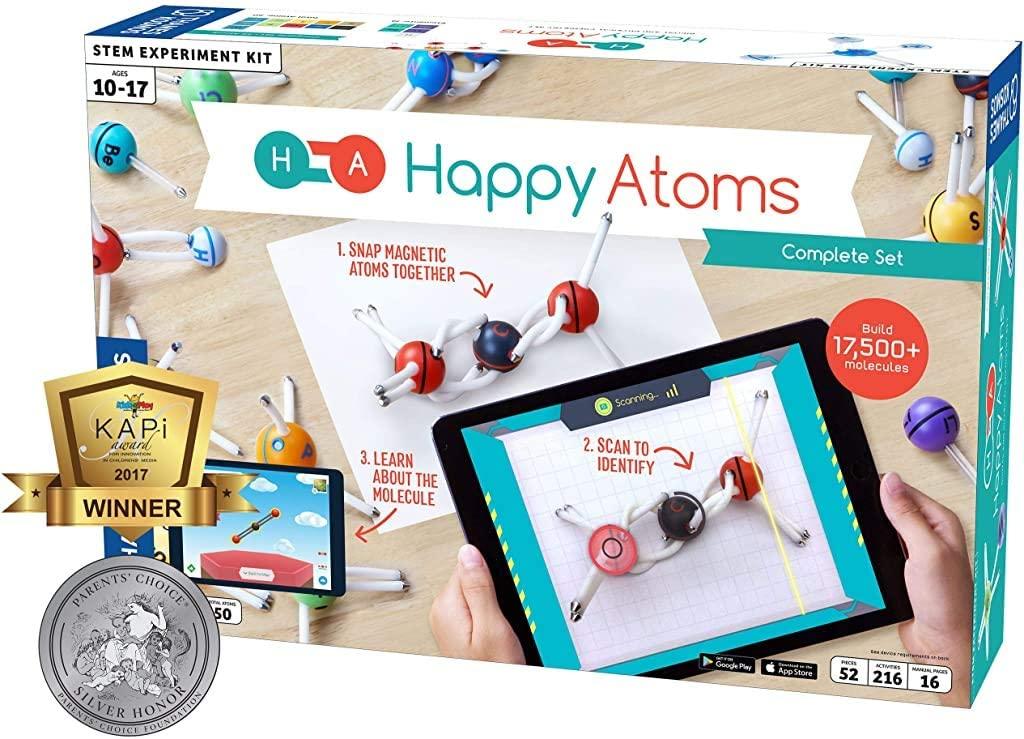 Happy Atoms Magnetic Molecular Modeling Set