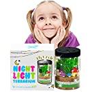 Terrarium Kit for Kids w LED Night Light