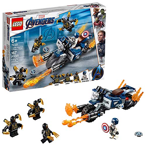 LEGO Marvel Avengers Captain America: Outriders Attack