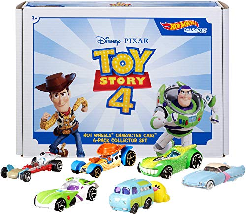 Hot Wheels Disney Pixar Toy Story 4 Character Cars
