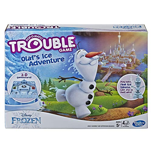 Trouble Game Olafs Ice Adventure