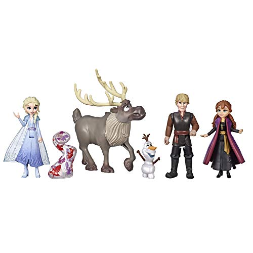 Disney Frozen Adventure Collection, 5 Small Dolls