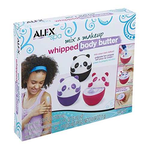 Alex Spa Mix & Makeup Whipped Body Butter Girls DIY Fashion Activity