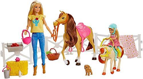 Mattel Barbie Hugs n Horses Dolls, Horses and Accessories
