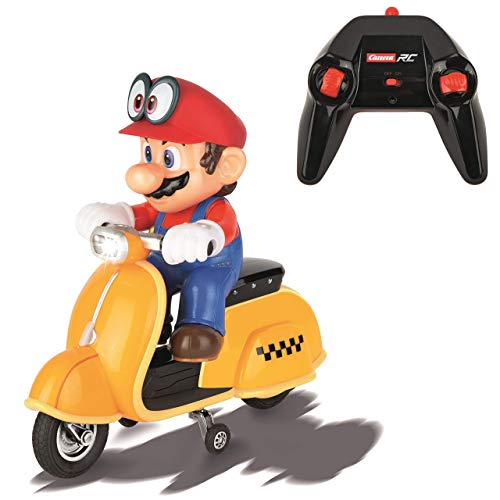 Carrera RC Official Licensed Super Mario Odyssey Scooter 1: 20 Scale