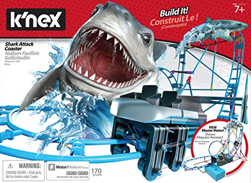Knex Tabletop Thrills Shark Attack Roller Coaster