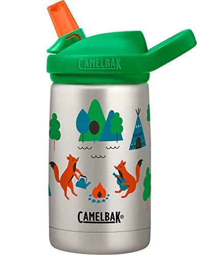 CamelBak Eddy+ Kids 12 oz Bottle, Vacuum Insulated Stainless Steel