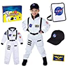 Deluxe Astronaut Costume for Kids with Nasa Bag and Hat