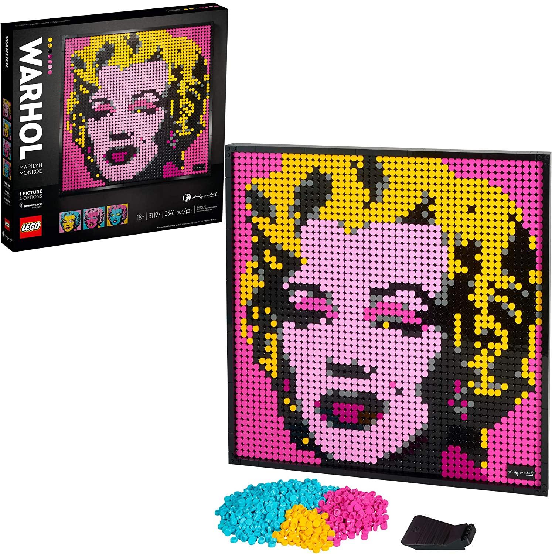 LEGO Art Andy Warhol?s Marilyn Monroe