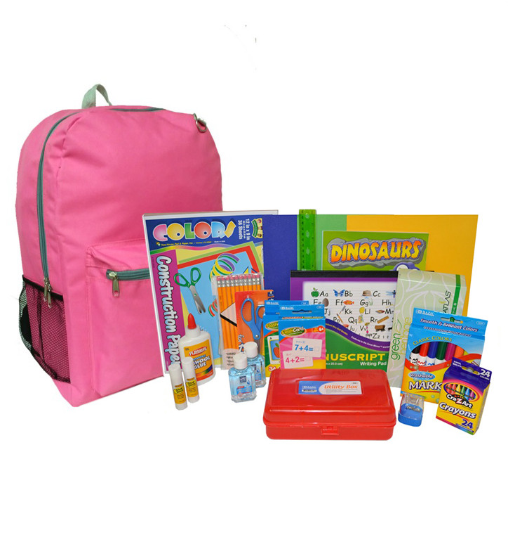 K to 2nd Grade Backpack and Supplies