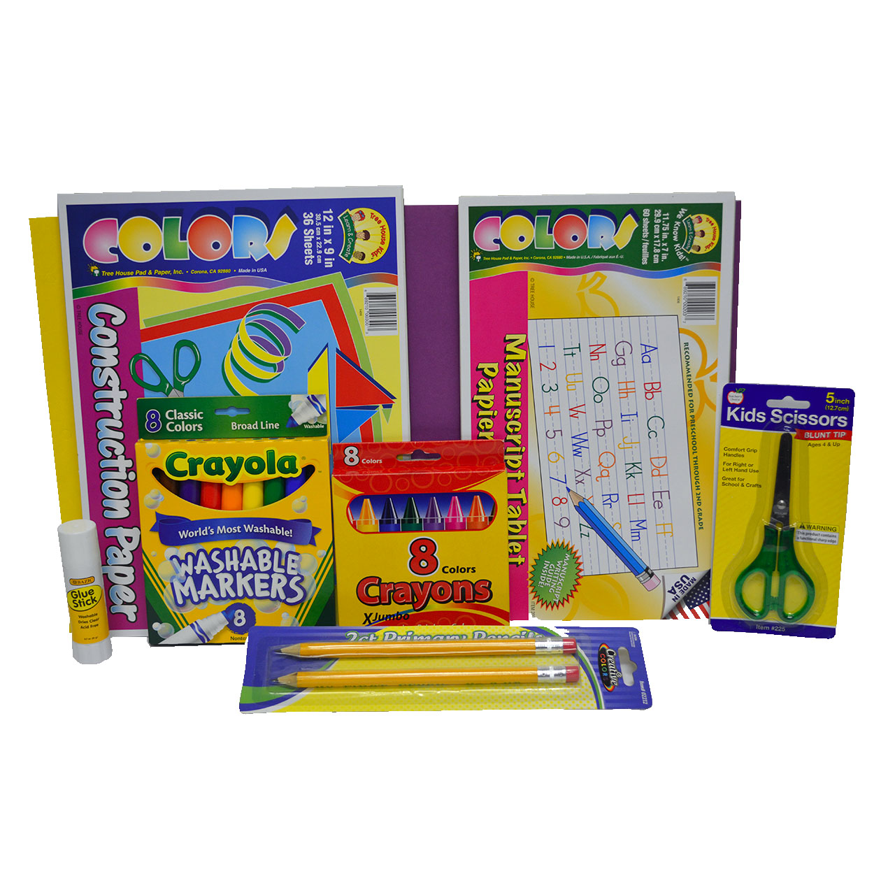 3rd to 5th Grade Backpack and Supplies